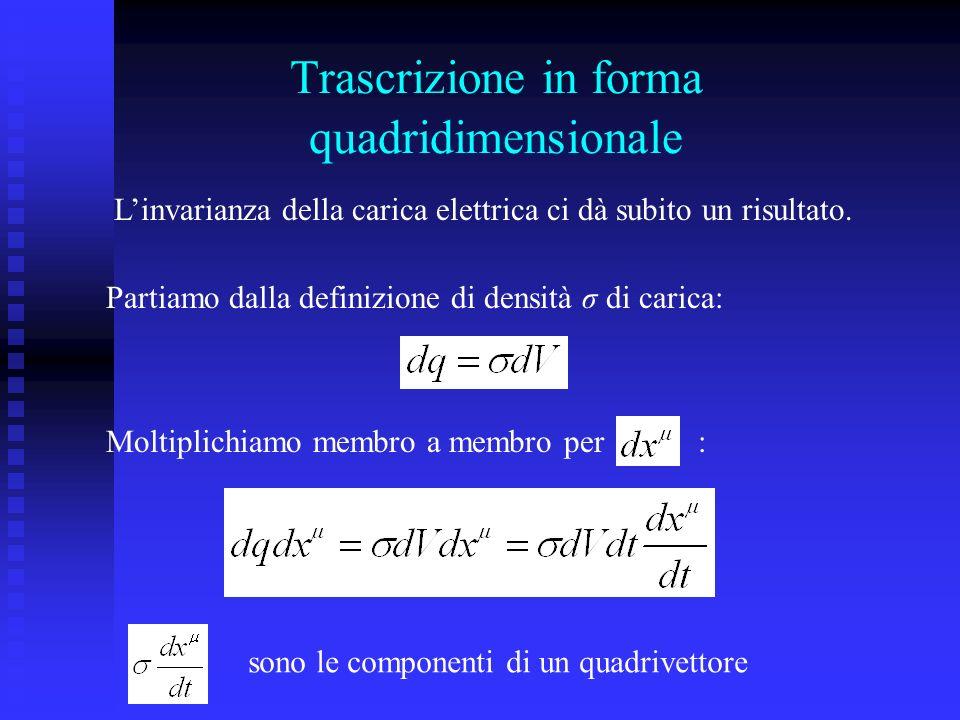 Trascrizione in forma quadridimensionale