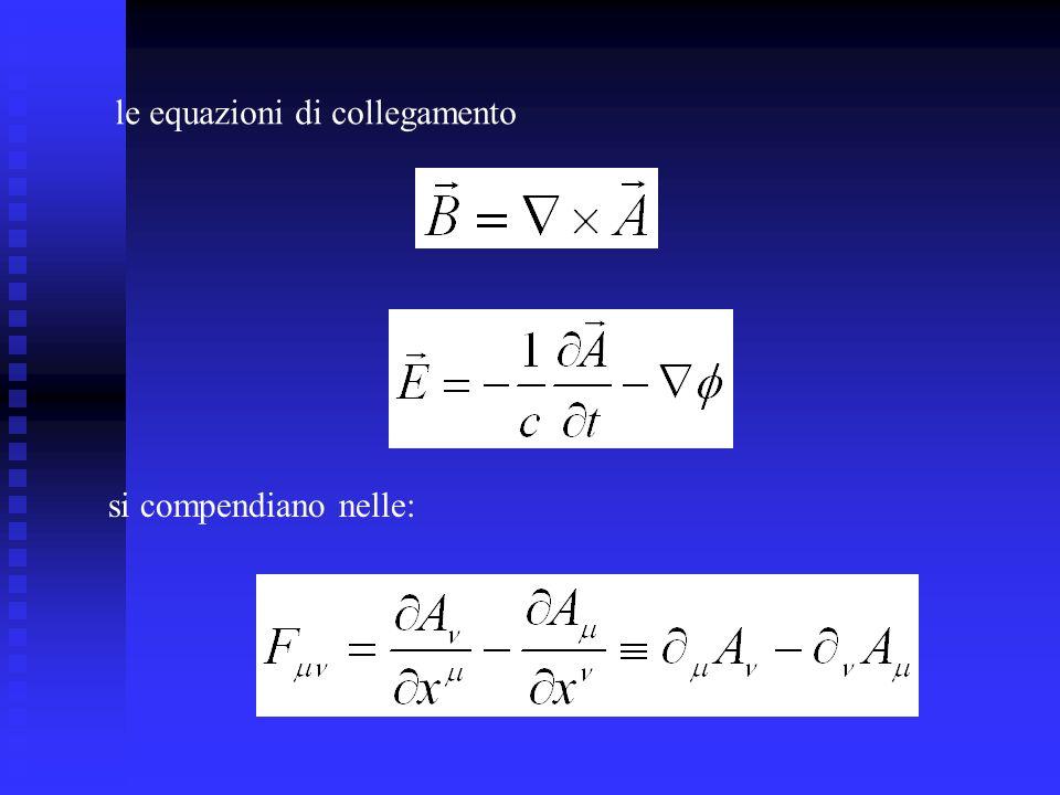 le equazioni di collegamento