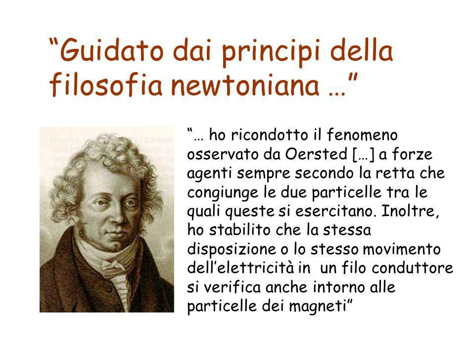 Guidato dai principi della filosofia newtoniana …