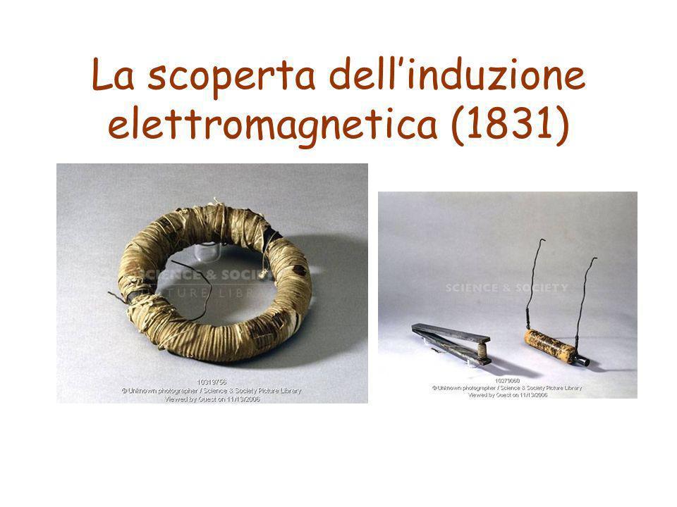 La scoperta dell'induzione elettromagnetica (1831)