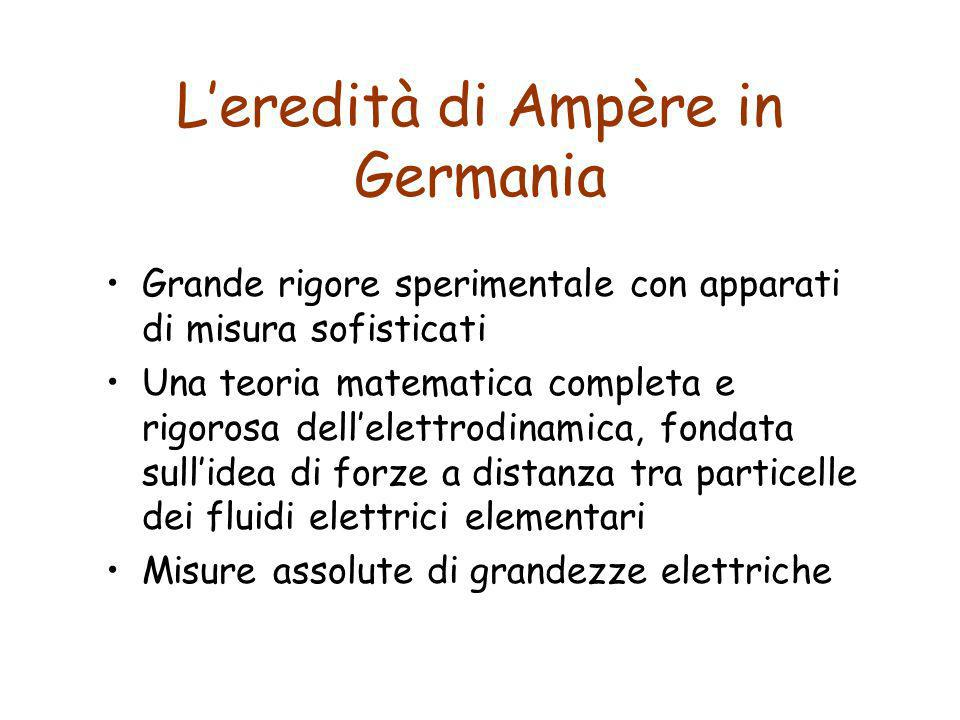L'eredità di Ampère in Germania