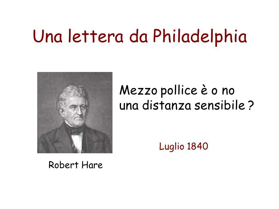 Una lettera da Philadelphia