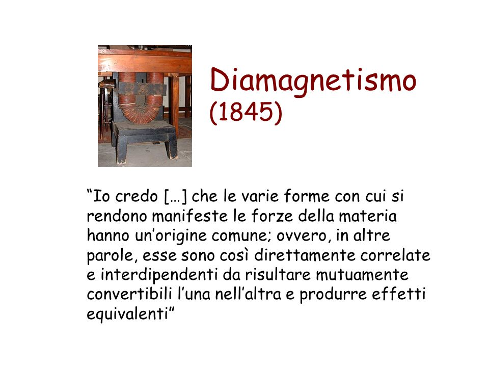 Diamagnetismo (1845)