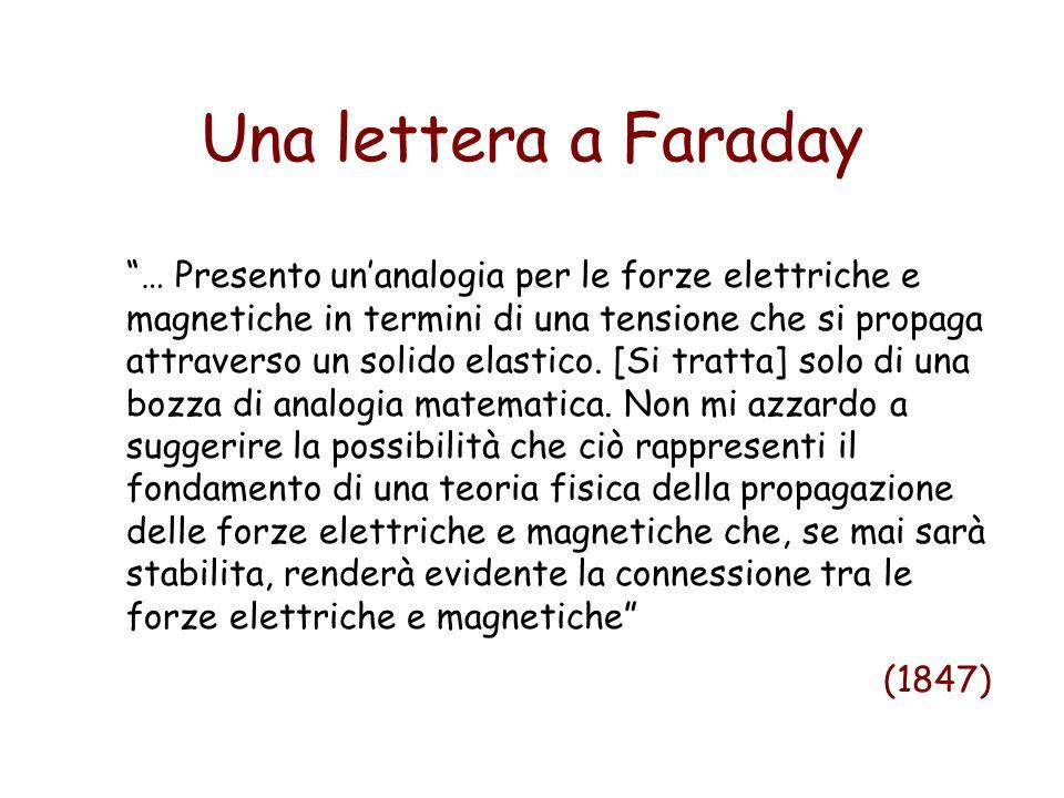 Una lettera a Faraday