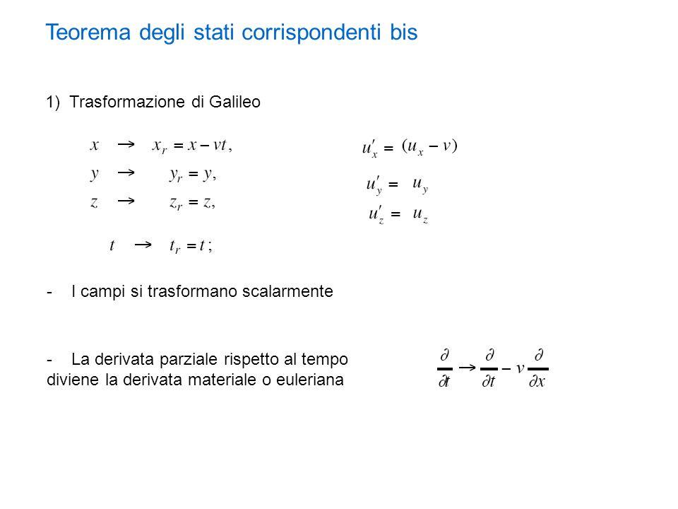 Teorema degli stati corrispondenti bis
