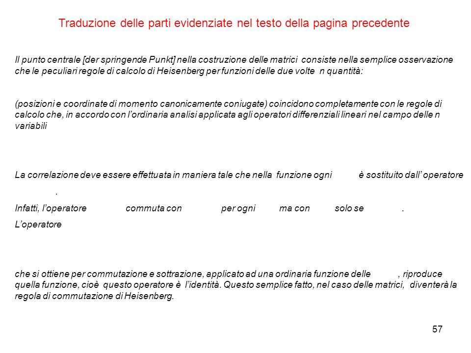Traduzione delle parti evidenziate nel testo della pagina precedente