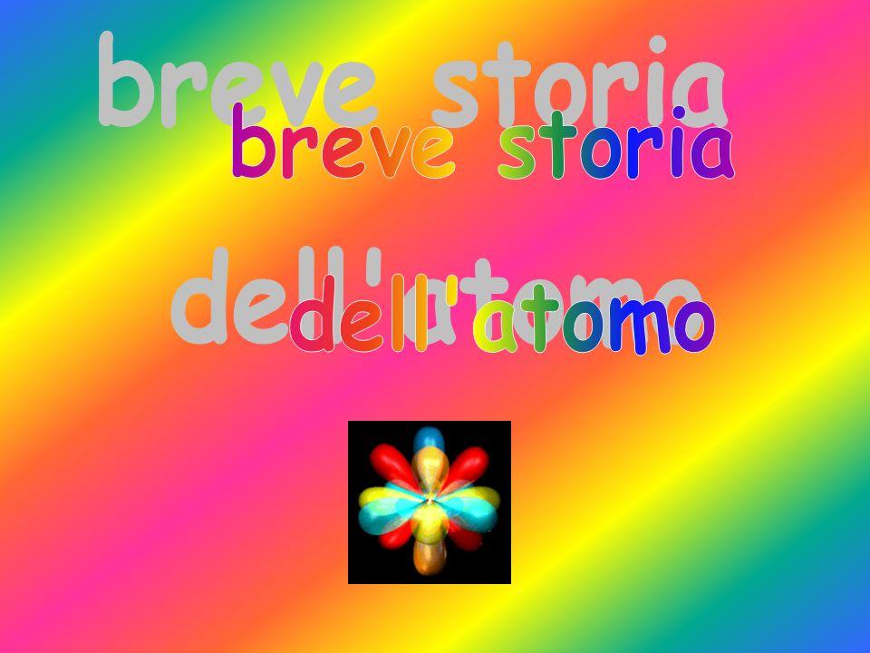 breve storia dell atomo