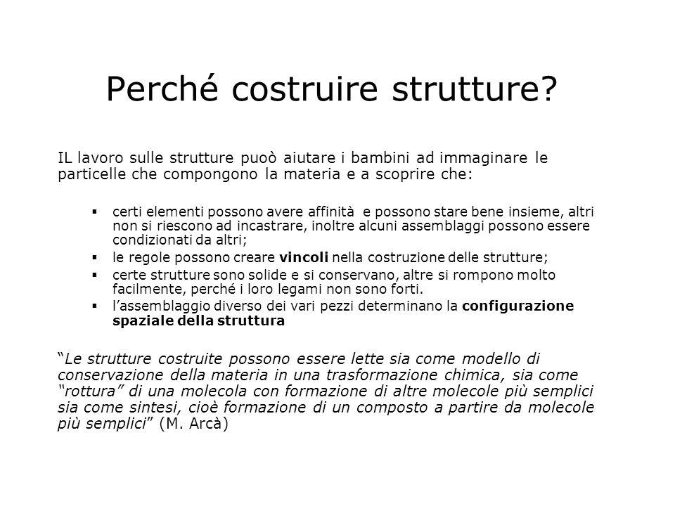 Perché costruire strutture