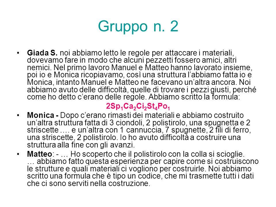Gruppo n. 2