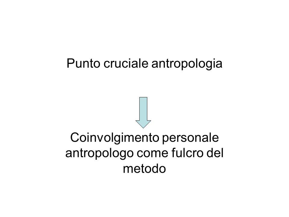 Punto cruciale antropologia