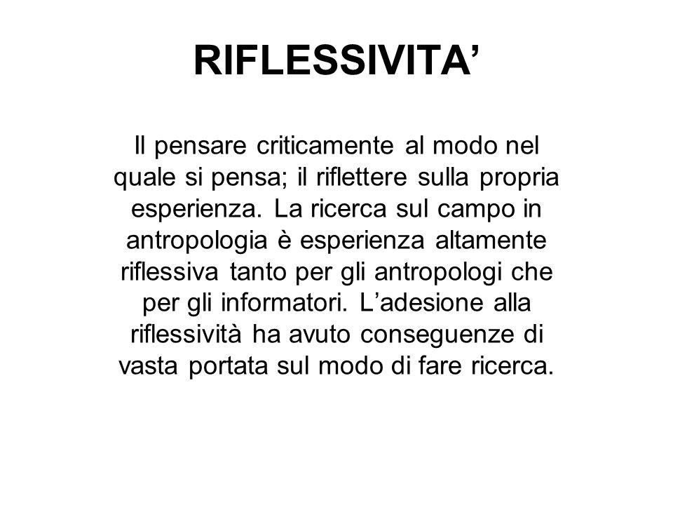 RIFLESSIVITA'