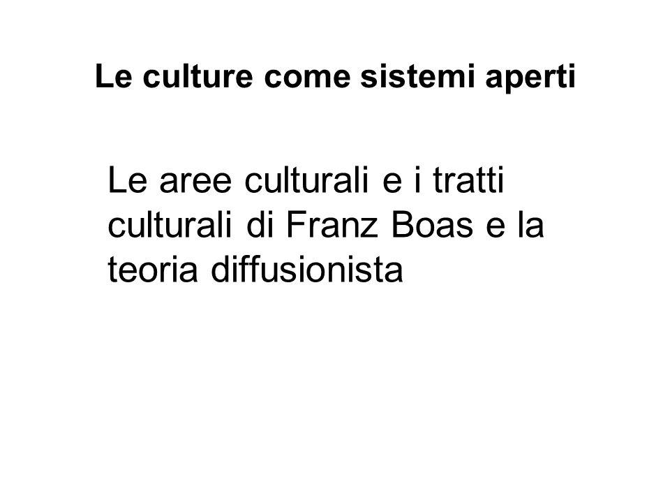 Le culture come sistemi aperti