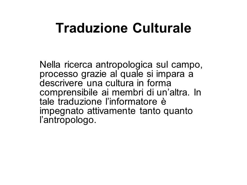 Traduzione Culturale