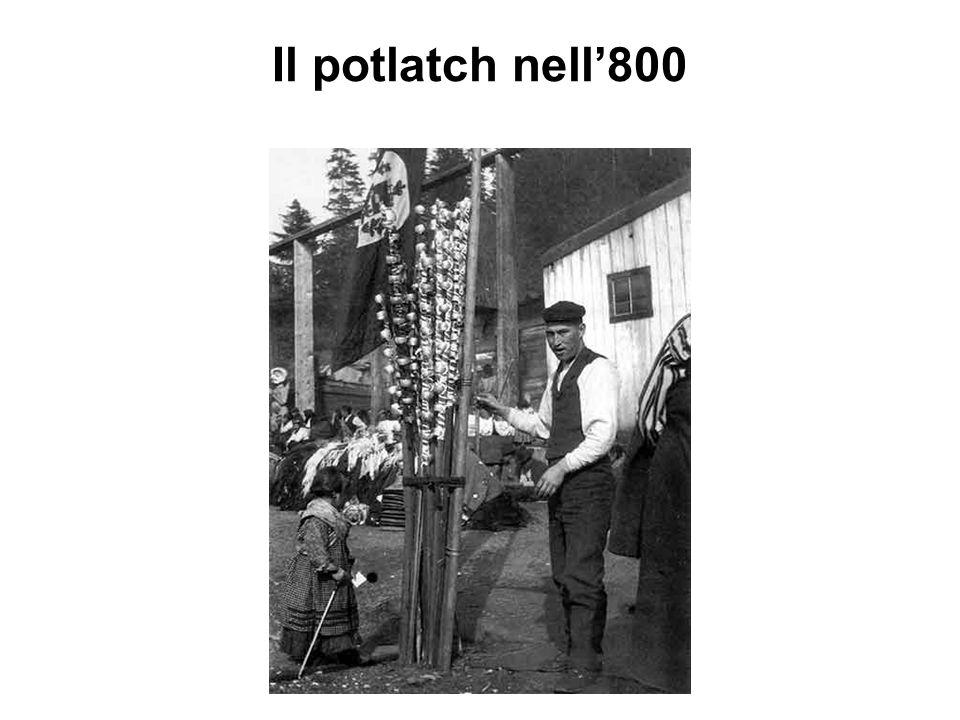Il potlatch nell'800