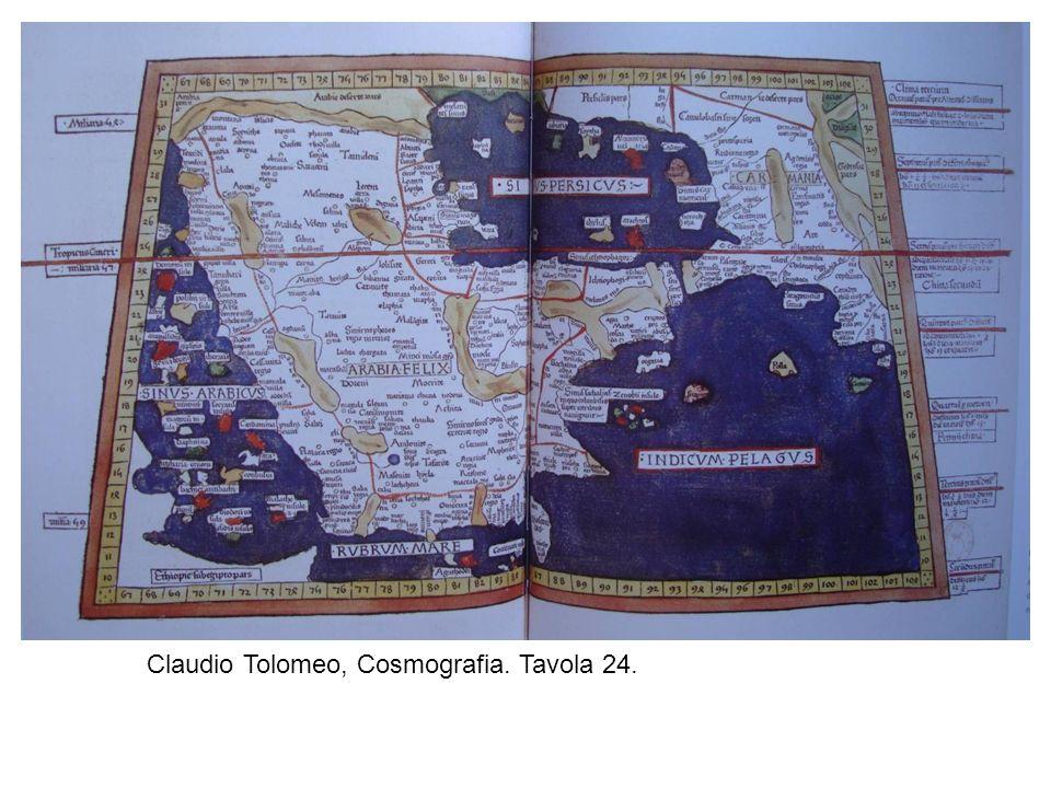 Claudio Tolomeo, Cosmografia. Tavola 24.
