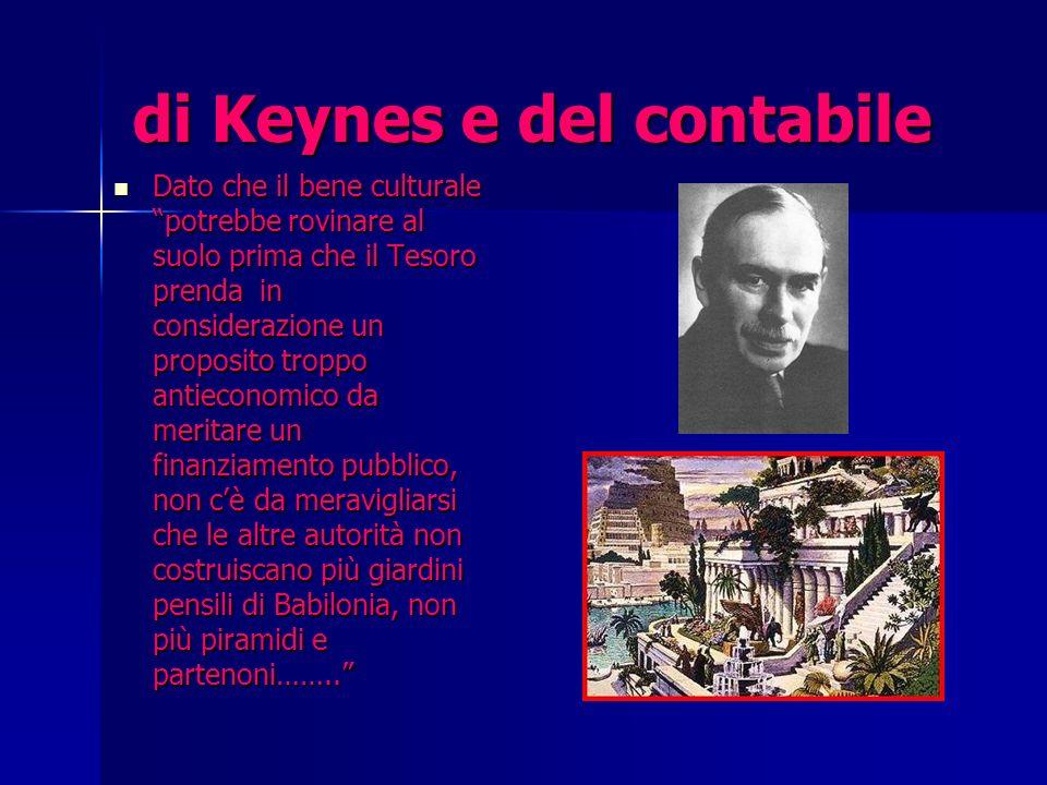 di Keynes e del contabile