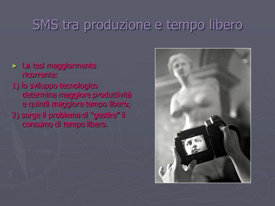 SMS tra produzione e tempo libero
