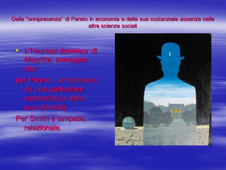 L'heureux donateur di Magritte, immagino che: