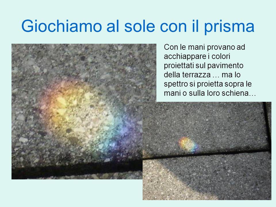 Giochiamo al sole con il prisma