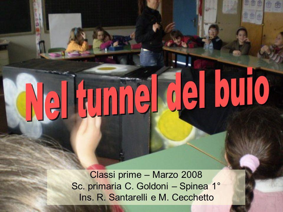 Nel tunnel del buio Classi prime – Marzo 2008