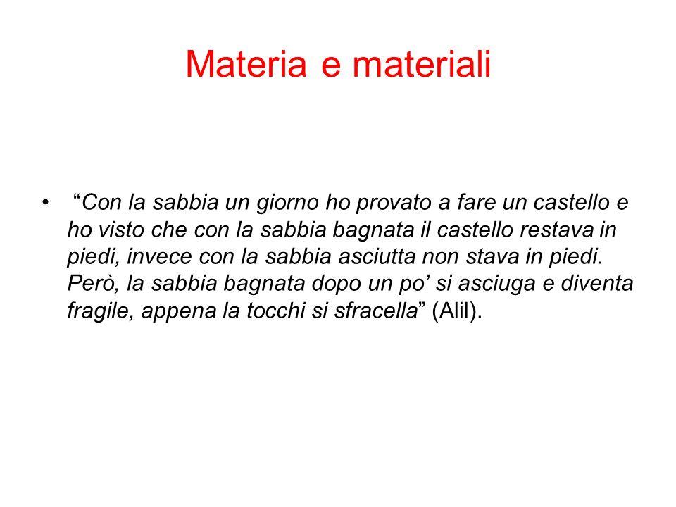 Materia e materiali