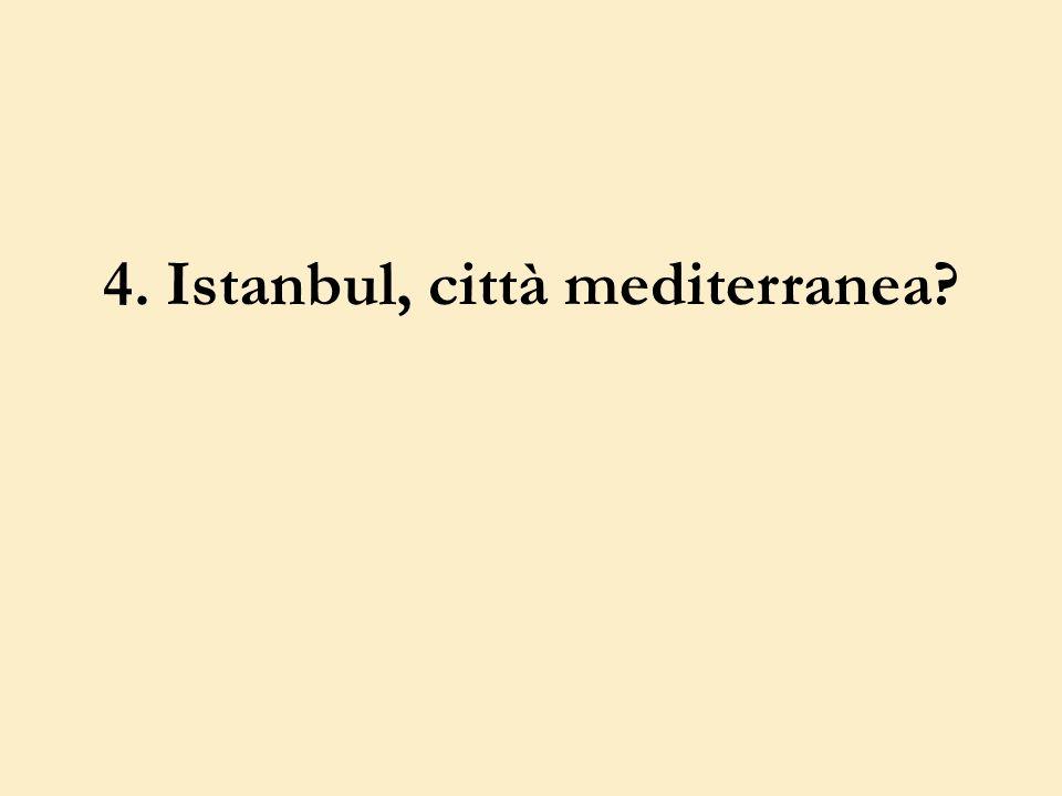 4. Istanbul, città mediterranea