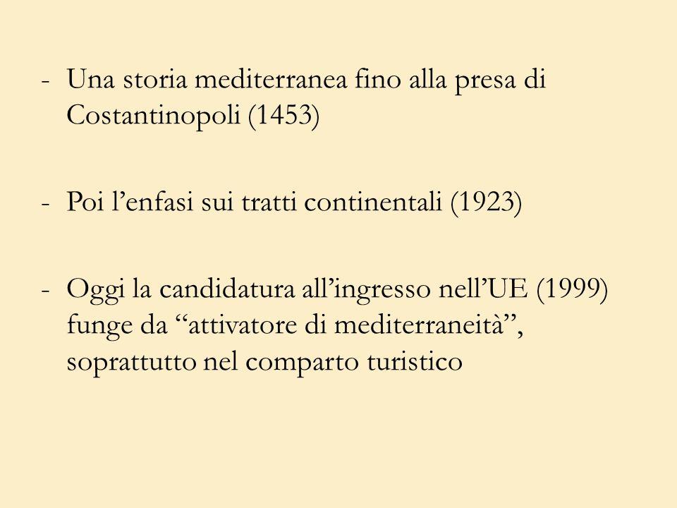 Una storia mediterranea fino alla presa di Costantinopoli (1453)