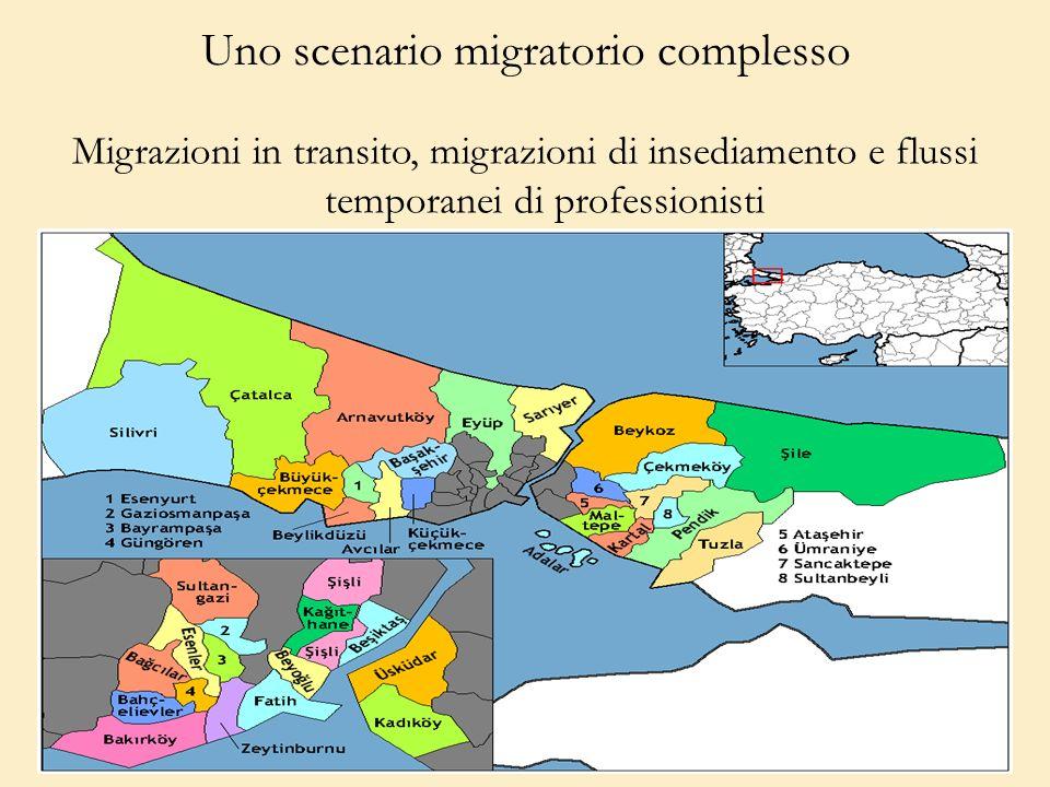 Uno scenario migratorio complesso