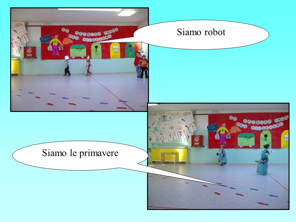 Siamo robot Siamo le primavere