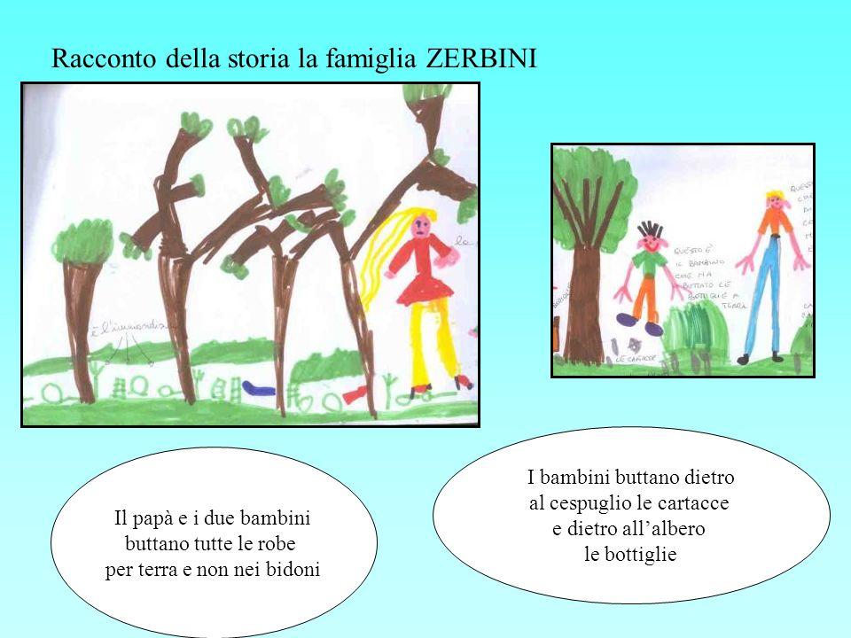 Racconto della storia la famiglia ZERBINI
