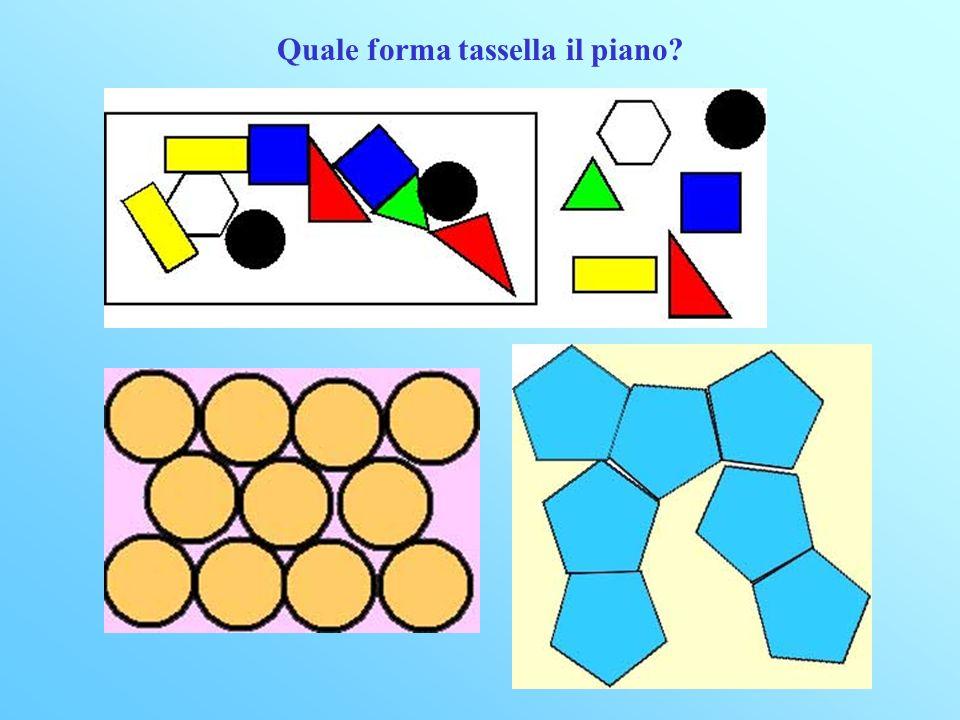 Quale forma tassella il piano