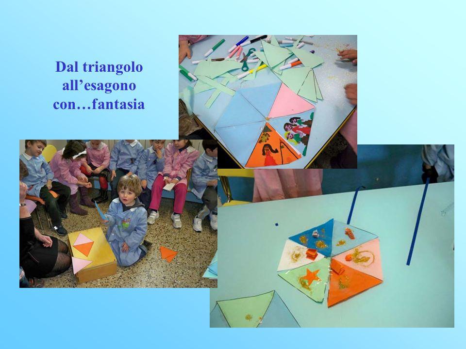 Dal triangolo all'esagono con…fantasia