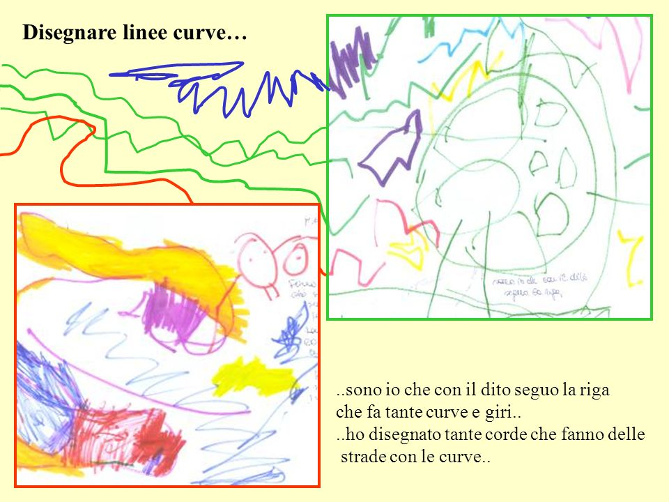Disegnare linee curve…