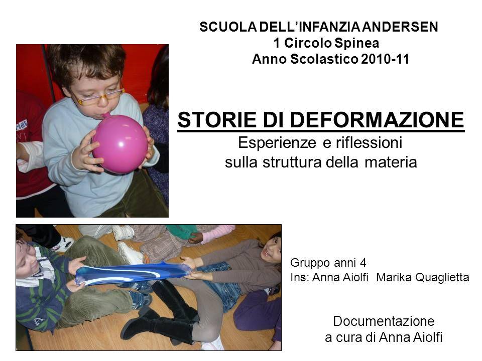 SCUOLA DELL'INFANZIA ANDERSEN STORIE DI DEFORMAZIONE