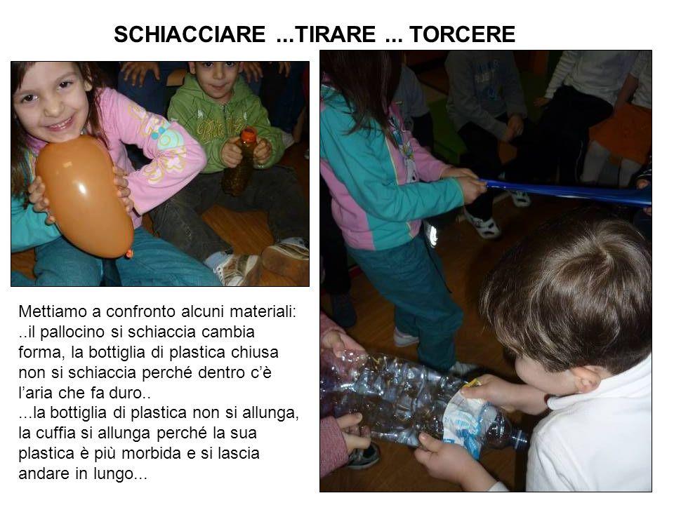 SCHIACCIARE ...TIRARE ... TORCERE