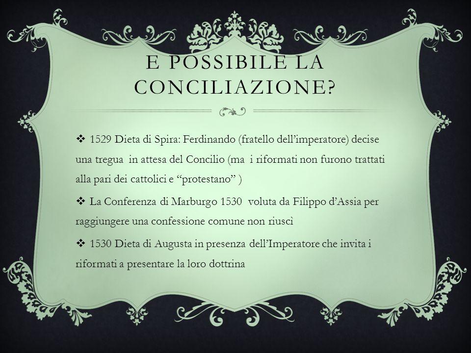 E possibile la conciliazione