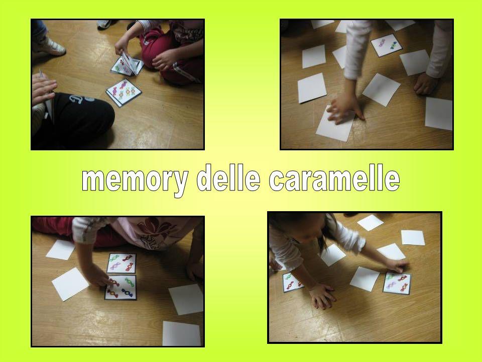 memory delle caramelle