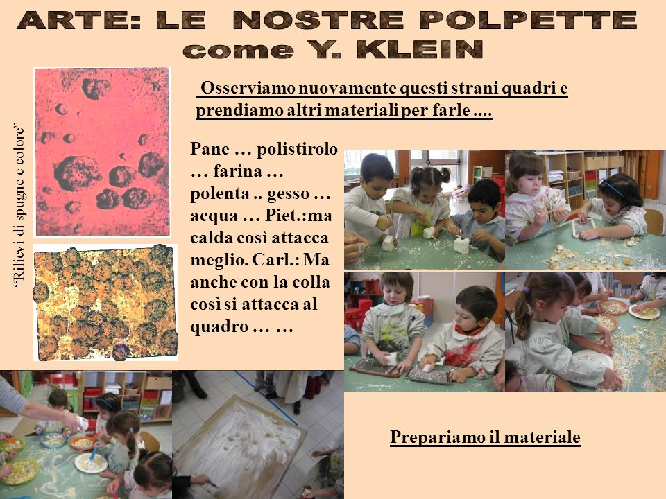 ARTE: LE NOSTRE POLPETTE