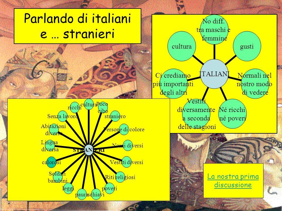 Parlando di italiani e … stranieri