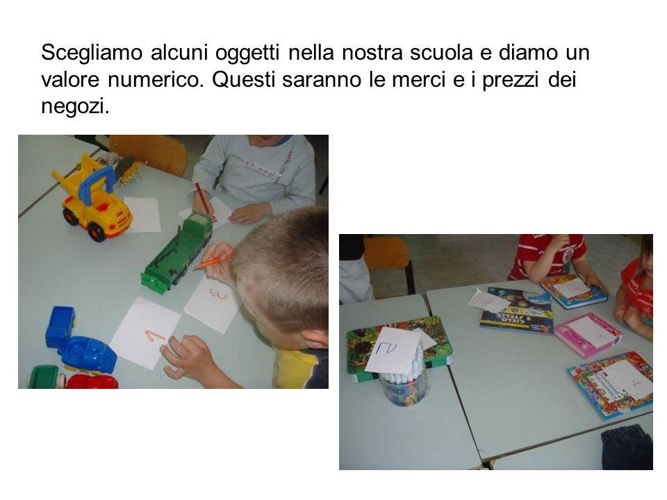 Scegliamo alcuni oggetti nella nostra scuola e diamo un valore numerico.