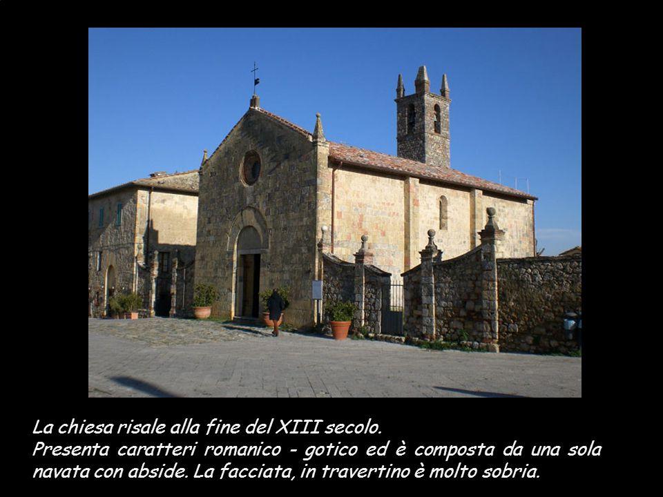 La chiesa risale alla fine del XIII secolo.