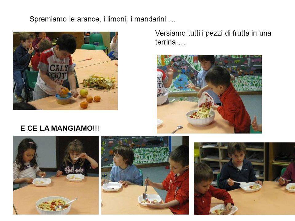 Spremiamo le arance, i limoni, i mandarini …