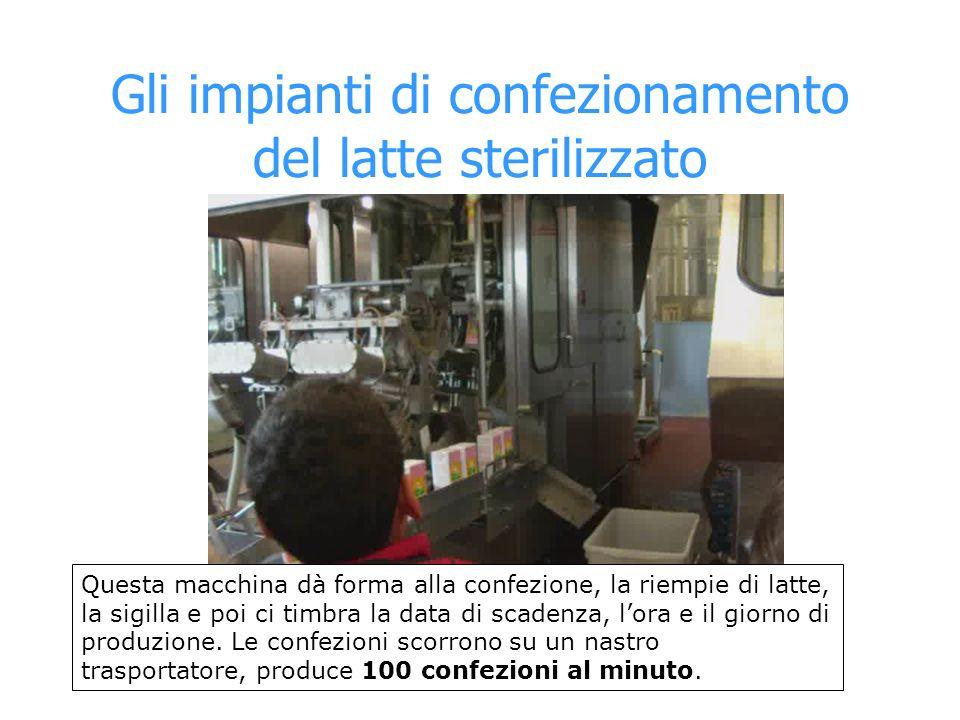 Gli impianti di confezionamento del latte sterilizzato