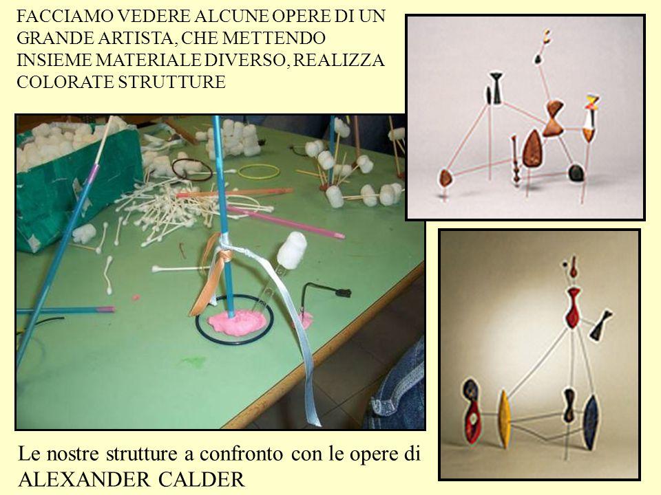 Le nostre strutture a confronto con le opere di ALEXANDER CALDER