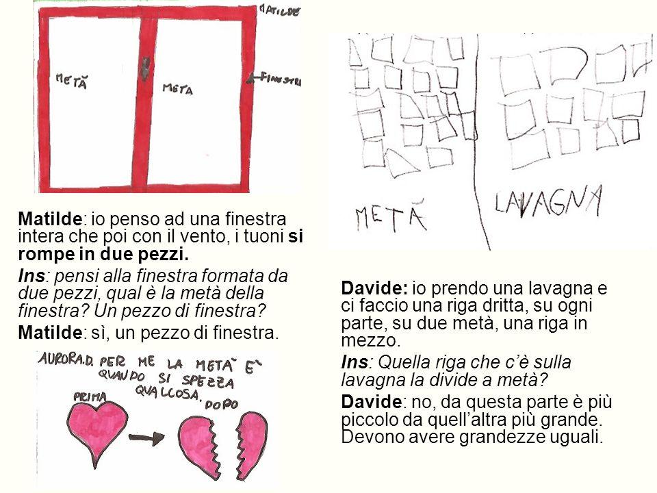 Matilde: io penso ad una finestra intera che poi con il vento, i tuoni si rompe in due pezzi.