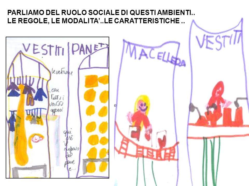 PARLIAMO DEL RUOLO SOCIALE DI QUESTI AMBIENTI..