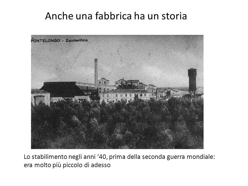 Anche una fabbrica ha un storia