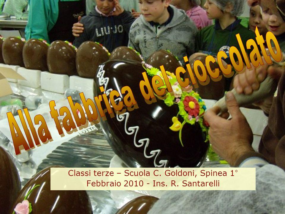Alla fabbrica del cioccolato