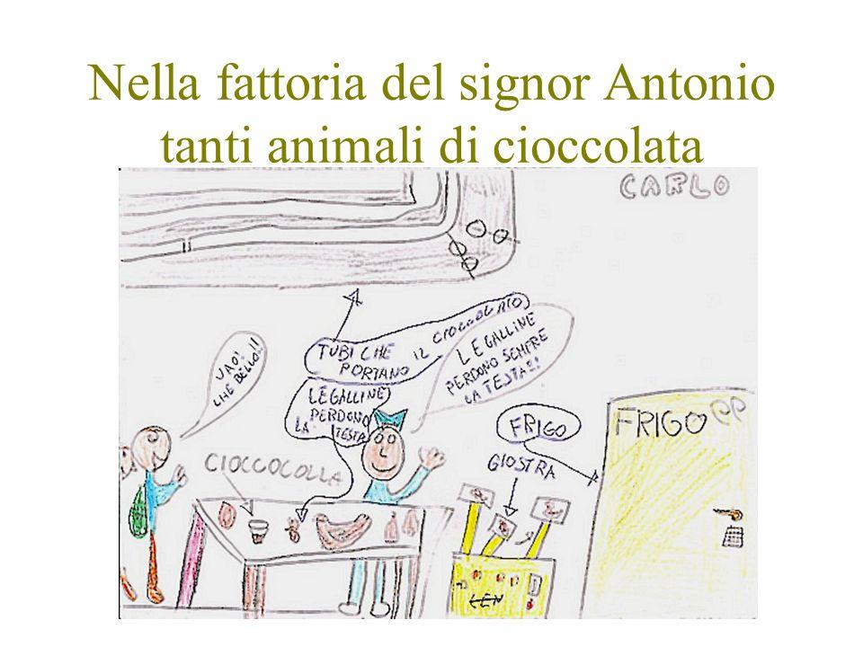 Nella fattoria del signor Antonio tanti animali di cioccolata