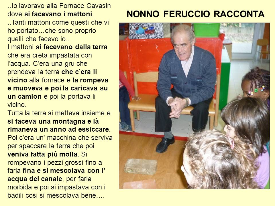 NONNO FERUCCIO RACCONTA